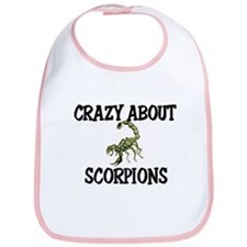 Crazy About Scorpions Bib