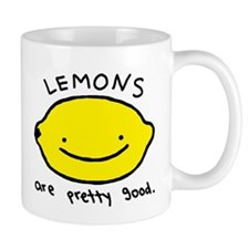 Pretty Good Lemons Small Mug