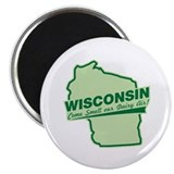 wisconsin - smell our dairy air Magnet