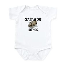 Crazy About Rhinos Onesie