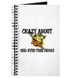 Crazy About Red-Eyed Tree Frogs Journal
