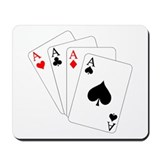 4 Aces! Mousepad