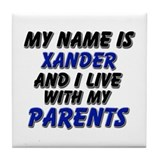 my name is xander and I live with my parents Tile