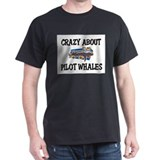 Crazy About Pilot Whales T-Shirt