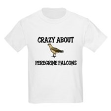 Crazy About Peregrine Falcons T-Shirt