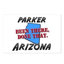 parker arizona - been there, done that Postcards (
