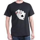 Poker Dreams Black T-Shirt