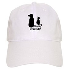 Cat and Dog Best Friends Baseball Cap