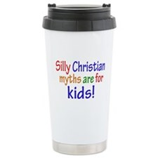 Silly Christians Ceramic Travel Mug