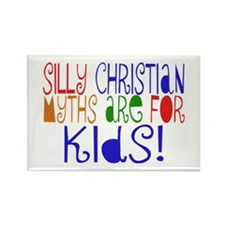 Silly Christians Rectangle Magnet