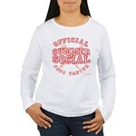 OFFICIAL SUMMER SOCIAL FOOD T Women's Long Sleeve