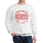 OFFICIAL SUMMER SOCIAL FOOD T Sweatshirt