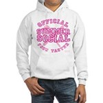 OFFICIAL SUMMER SOCIAL FOOD T Hooded Sweatshirt