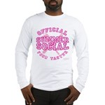 OFFICIAL SUMMER SOCIAL FOOD T Long Sleeve T-Shirt