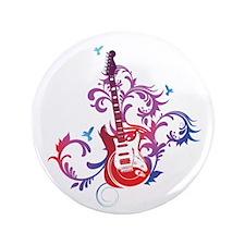 "Guitar 3.5"" Button (100 pack)"