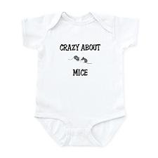 Crazy About Mice Infant Bodysuit