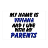 my name is viviana and I live with my parents Post