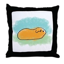 Simple Guinea Pig Throw Pillow