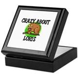 Crazy About Loris Keepsake Box
