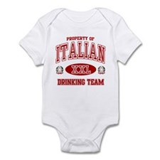 Italian Drinking Team Infant Bodysuit