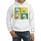 Westies in color! Jumper Hoody