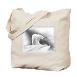 Cute Northern polar lights Tote Bag