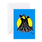 Ballroom dance Greeting Cards (10 Pack)
