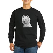 Cute West highland terrier T