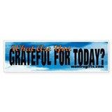 What are you grateful for today? Remind drivers wi