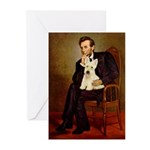 Lincoln / Scottie (w) Greeting Cards (Pk of 20)