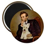 Lincoln / Scottie (w) Magnet