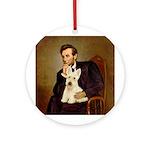 Lincoln / Scottie (w) Ornament (Round)
