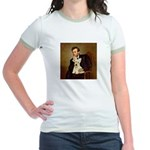 Lincoln / Scottie (w) Jr. Ringer T-Shirt