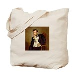 Lincoln / Scottie (w) Tote Bag