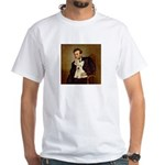 Lincoln / Scottie (w) White T-Shirt