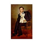 Lincoln / Scottie (w) Sticker (Rectangle 50 pk)