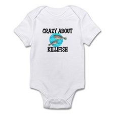 Crazy About Killifish Infant Bodysuit