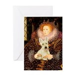 Queen / Scottie (w) Greeting Card