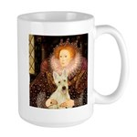 Queen / Scottie (w) Large Mug