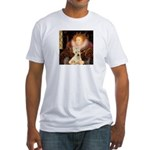 Queen / Scottie (w) Fitted T-Shirt