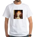 Queen / Scottie (w) White T-Shirt