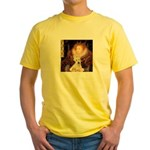Queen / Scottie (w) Yellow T-Shirt