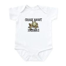 Crazy About Iguanas Infant Bodysuit