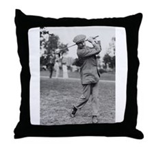 Harry Vardon Throw Pillow