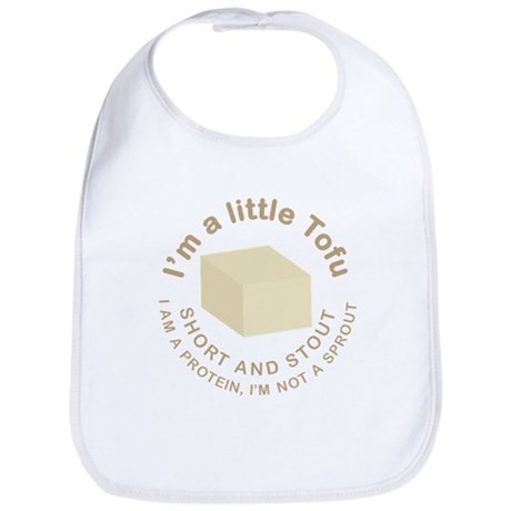 I'm a Little Tofu Bib