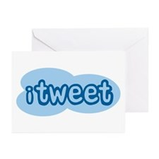 iTweet (Twitter) Greeting Cards (Pk of 10)