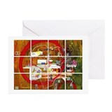 PeaceTiles 4 Breakfast! 6 Holiday Greeting Cards