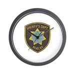 Reno Sheriff Wall Clock