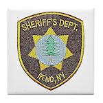 Reno Sheriff Tile Coaster