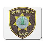 Reno Sheriff Mousepad